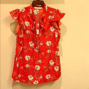 Red Blouse, never worn it.